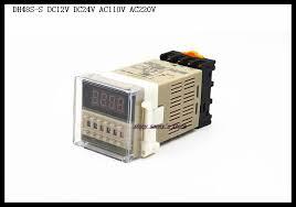 DH48S S <b>DC12V</b>, <b>DC24V</b>, AC110V, <b>AC220V</b> Multifunction Digital ...
