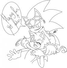 Splendi Sonic Shadow Coloring Pages Free For Adults To Print Girls