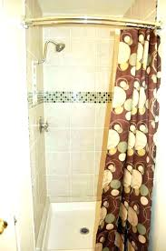 double curved shower curtain rod double curved tension shower rod curved double shower rod double shower