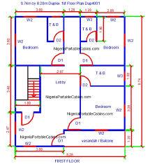 duplex house plans nigeria free