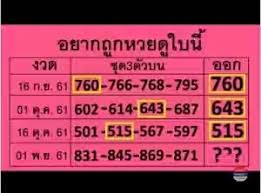 Thai Lottery Tips Hot Vip 3 Digit Mag Plus Chart Up Down