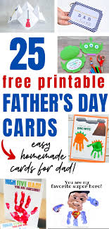 Choose and personalize a free father's day. Homemade Diy Father S Day Cards With Free Printables A Hundred Affections