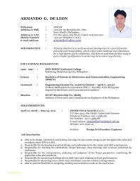 Resume Format For Free With Updated Resume Format 2015 Updated