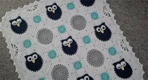 Crochet Owl Blanket Pattern Free Interesting Free Crochet Pattern Owl Blanket Pakbit For