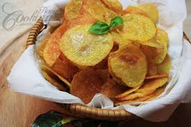 homemade baked potato chips 3 nutrition facts
