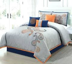 beautiful design ideas plain orange bedding quilts grey and quilt teal light blue gray