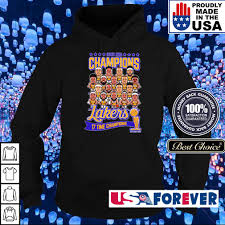 You want to commemorate your favorite los angeles lakers player by recognizing their accomplishments. Los Angeles Lakers 2020 Nba 17 Time Champions Champions Hoodie Sweater Long Sleeve And Tank Top