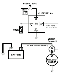motorcycle starter relay wiring diagram wiring diagrams and starter relay wiring diagram trailer 2007 ktm 950 adventure electric starter system circuit and motorcycle