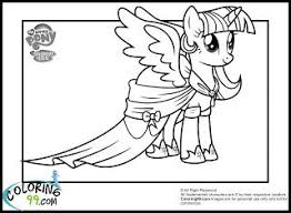 Coloring Pages 43 Excelent My Little Pony Coloring Twilight