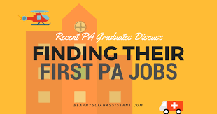 Recent Pa Graduates Discuss Finding Their First Pa Jobs|Be A ...