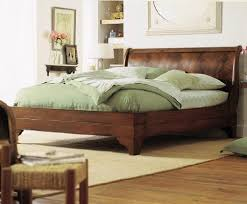 mahogany sleigh bed. Unique Bed Stratford Flame Mahogany Sleigh Bed In N