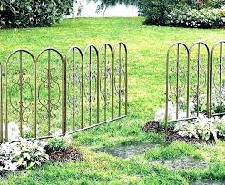 decorative wire garden fence. No Dig Fence Home Depot Garden Fencing Decorative  Wire