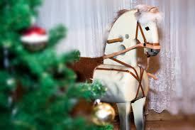 wood antique play flower old gift horse decoration joy nostalgic mold rocking horse seahorses