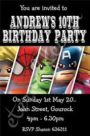 Personalised Birthday Invitations For Kids 19 Superhero Birthday Invitations Free Psd Vector Eps Ai
