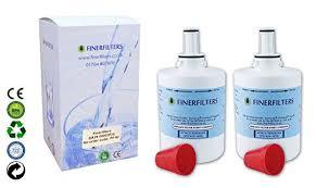 samsung aqua pure plus filter. 2 X Finerfilters Compatible Samsung Aqua Pure Plus Fridge Water Filter DA29-00003 Fits B F