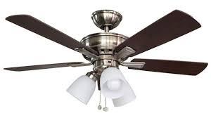 hamilton bay ceiling fan replacement blades stylish hampton vaurgas 44 in led indoor brushed nickel regarding 11