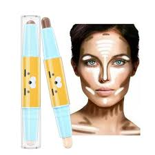 dels about makeup highlight contouring cream face powder concealer stick highlighter