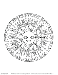 Mandala Coloring Pages Adults Printable Coloring Page For Kids