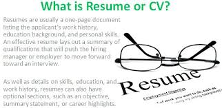 Definition Of Resume Inspiration Resume Cv Definition Of Cover Letter Meaning Utmostus