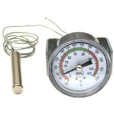 picture of thermometer for vulcan hart part 00 851800 00028