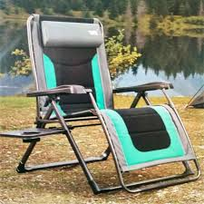 com timber ridge zero gravity lounge chair with side table garden outdoor