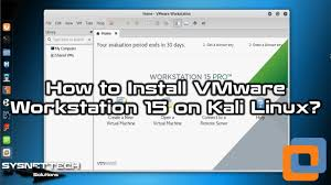how to install vmware how to install vmware workstation 15 1 0 on kali linux 2019 1a sysnettech solutions
