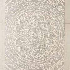 plum bow sahara medallion printed rug
