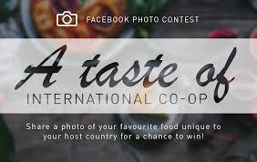 international co op co operative education simon fraser university facebook photo contest