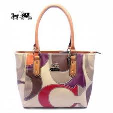 Quick View · Coach Satchels Bags Big Logo Medium Orange Ivory Outlet Sale  VIP Shop ...