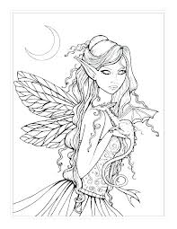 Free Fairy Coloring Pages Fairy Coloring Book Pages For Life