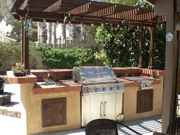 picture of build a backyard barbecue