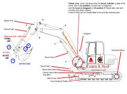 Komatsu Excavator Bucket Pin Size Chart Digger Arm Pins Bushes Mini Excavator Centre Digger