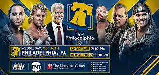 Aew Liacouras Center Seating Chart Aew On Tnt All Elite Wrestling The Liacouras Center