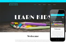 Kids School Website Template Learn Kids An Education School Category Bootstrap Responsive