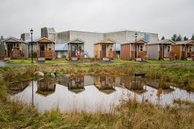 tiny houses portland. Dignity Village: Tiny Homes Community For Homeless In Portland, Oregon - The Shelter Blog Houses Portland