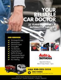 Auto Repair Flyer 310 Auto Repair Customizable Design Templates Postermywall