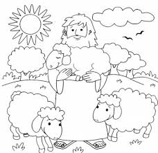 The he put the sheep on his shoulder shepherd will make sure that his and carried it all the way to the sheep have everything they need. Shepherds Coloring Pages Coloring Home