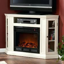 tv stand electric fireplace wall or corner electric fireplace a cabinet in ivory tv stand with