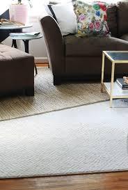 why i chose a white rug