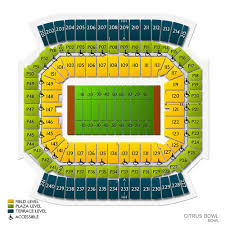 Citrus Bowl Seating Chart Citrus Bowl Tickets 2020 Game In Orlando Ticketcity