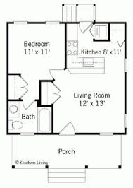 one bedroom house plans. House Plan 99971 Cottage Custom One Bedroom Plans 1
