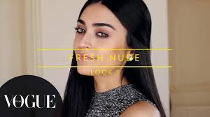 How To Get The Nude Makeup Look Vogue Beauty Goals with Lizah.