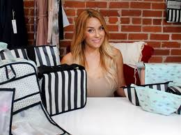 lauren conrad debuts xo eco by blueavocado a bag line made with repreve 39 s recycled