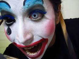 creepy clown makeup google search