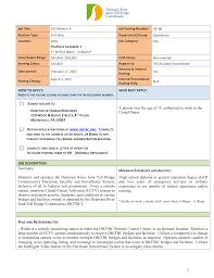 Work Description Form Job Description Form Delaware River Joint Toll Bridge