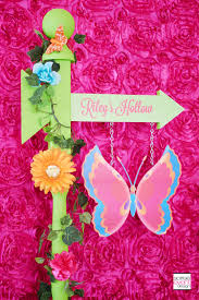 fairy garden party custom decorations