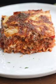 Classic Lasagne Classic Italian Lasagna Tastes Better From Scratch