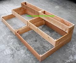 tiered planter raised garden beds