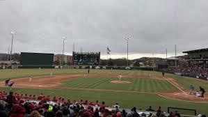 Baum Walker Stadium At George Cole Field Arkansas