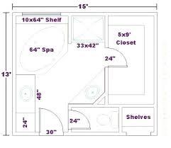 Master Bathroom Dimensions Impressive Decorating Ideas